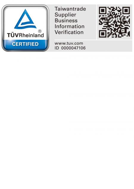 TÜV Rheinland Verifiction