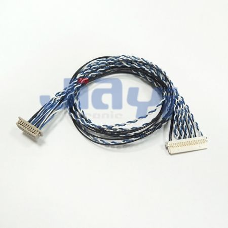 TTL Cable Hirose DF13 Custom Cable Assembly - TTL Cable Hirose DF13 Custom Cable Assembly