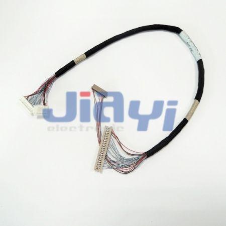 Hirose DF14 LVDS und LCD-Kabelbaum - Hirose DF14 LVDS und LCD-Kabelbaum
