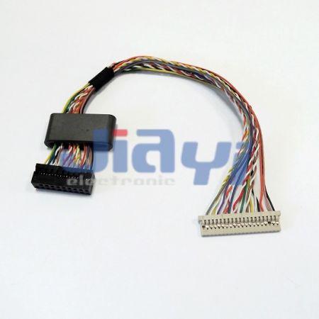 Hirose DF14 Benutzerdefiniertes LVDS-Bildschirmkabel - Hirose DF14 Benutzerdefiniertes LVDS-Bildschirmkabel