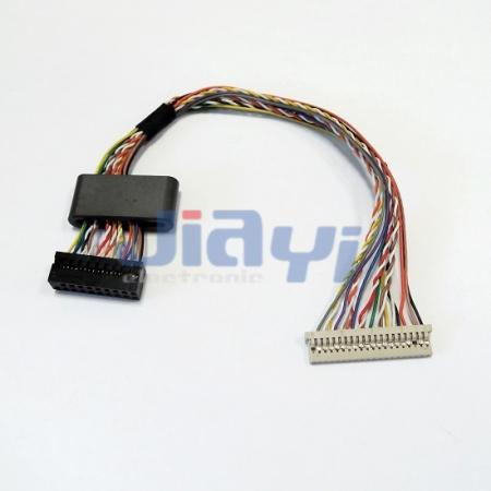 Cable de pantalla LVDS personalizado Hirose DF14 - Cable de pantalla LVDS personalizado Hirose DF14