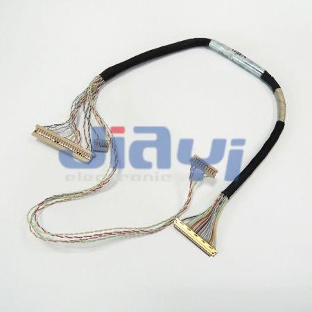Arnés de cableado personalizado IPEX 20453 LVDS - Arnés de cableado personalizado IPEX 20453 LVDS