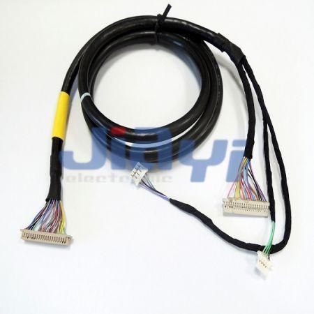 Assemblage de câbles LVDS pour panneau d'affichage LCD
