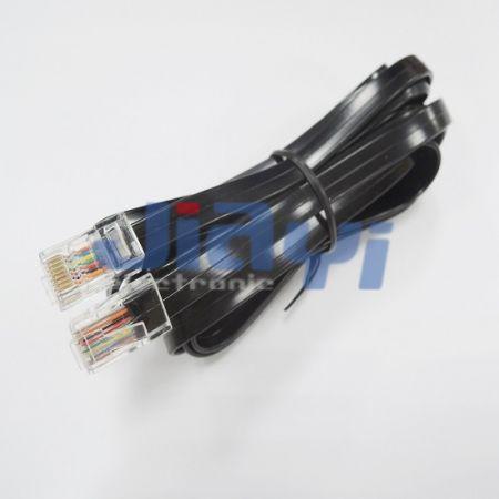 Flaches modulares RJ45-Steckerkabel - Flaches modulares RJ45-Steckerkabel