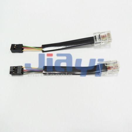 Câble de prise RJ45 modulaire plat