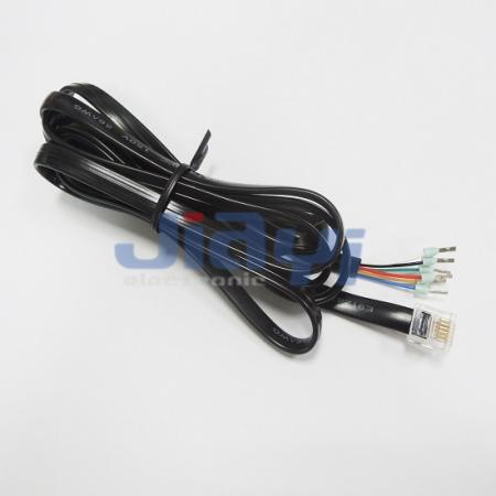 RJ12 Modular Telephone Cable Assembly - RJ12 Modular Telephone Cable Assembly