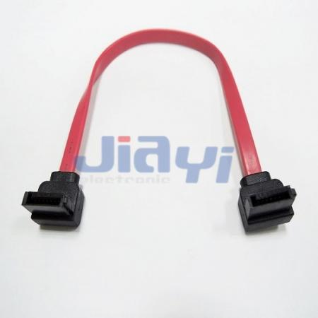 Serielles rechtwinkliges ATA 7P-Kabel - Serielles rechtwinkliges ATA 7P-Kabel