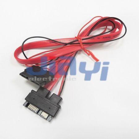 Тонкий удлинительный кабель SATA 13P - Тонкий удлинительный кабель SATA 13P