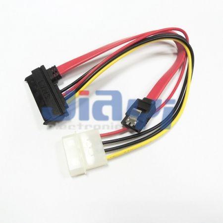 Комбинированный кабель для передачи данных и питания SATA - Комбинированный кабель для передачи данных и питания SATA