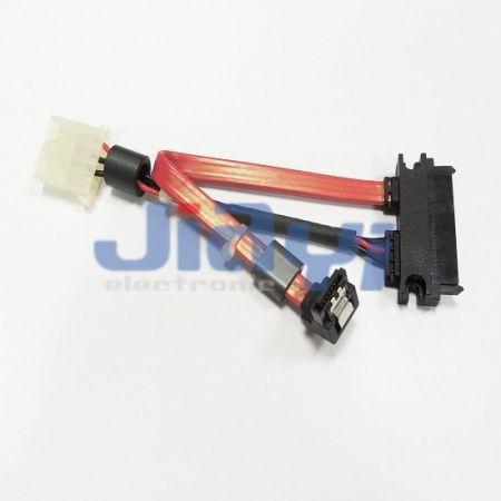 SATA 22P на SATA 7P и кабель питания - SATA 22P на SATA 7P и кабель питания