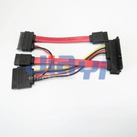 Kundenspezifisches Design SATA-Kabelkonfektionierung - Kundenspezifisches Design SATA-Kabelkonfektionierung