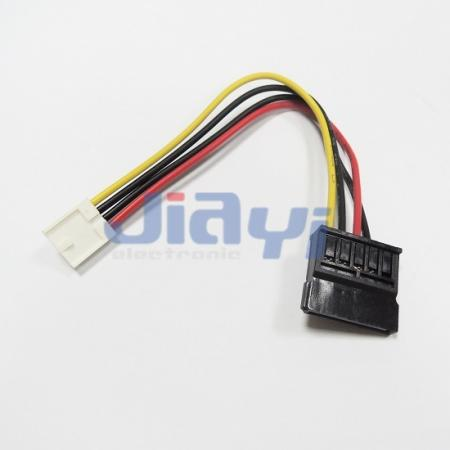 SATA-Kabel mit SATA 15P-Stromanschluss - SATA-Kabel mit SATA 15P-Stromanschluss