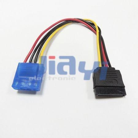 Conjunto de cable SATA 15P para alimentación - Conjunto de cable SATA 15P para alimentación