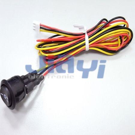Conjunto de chicote de fios com interruptor - Conjunto de chicote de fios com interruptor