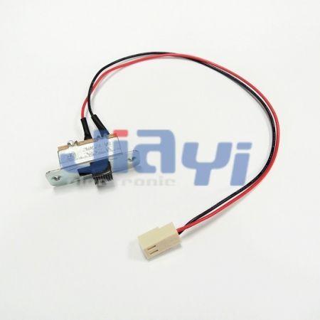 Conjunto de chicote de fios com interruptor