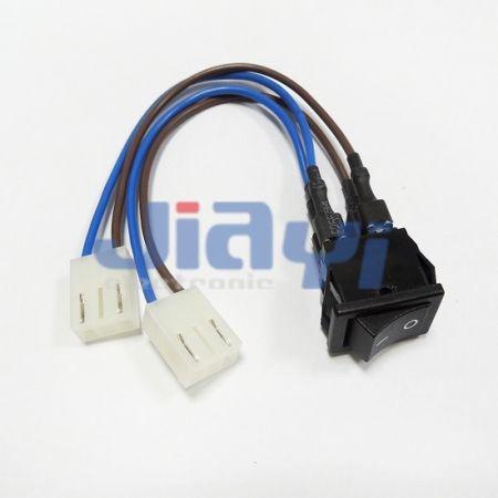 Chicote de fios personalizado do interruptor basculante - Chicote de fios personalizado do interruptor basculante