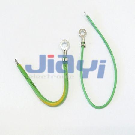 Неизолированный жгут проводов с кольцевым зажимом - Неизолированный жгут проводов с кольцевым зажимом