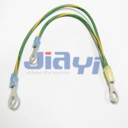Cablaggio con terminale ad anello isolato in nylon - Cablaggio con terminale ad anello isolato in nylon