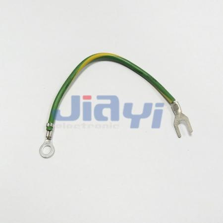 Non-Insulated Spade Terminal Wiring Harness