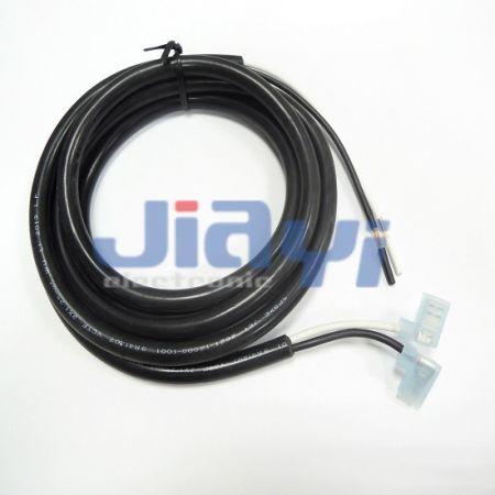 Faisceau de câbles avec borne à drapeau isolée en nylon - Faisceau de câbles avec borne à drapeau isolée en nylon