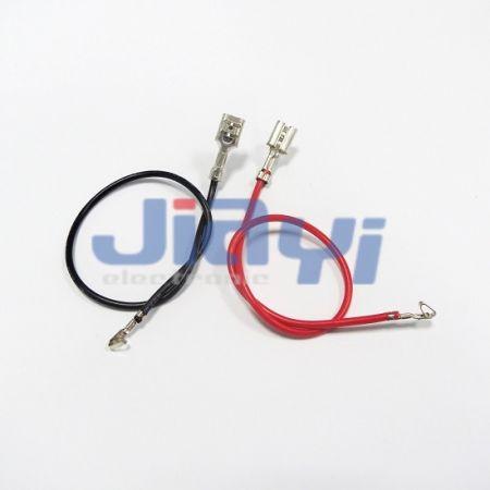 Faisceau de câbles avec borne femelle de type 187 non isolée - Faisceau de câbles avec borne femelle 187 non isolée