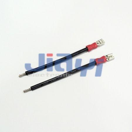 Faisceau de câblage de borne femelle isolé en PVC de type 187 - Faisceau de câblage de borne femelle isolé en PVC 187