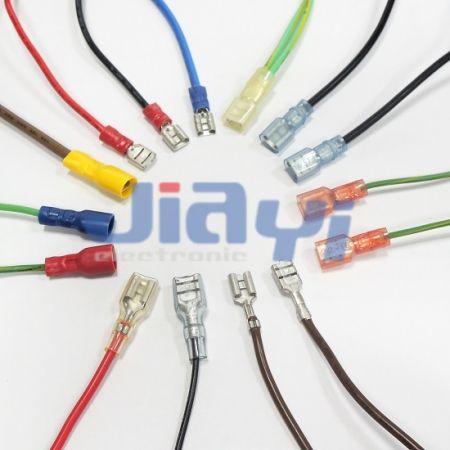 Mazo de cables de terminal Faston tipo 250 (6,35 mm) - Arnés de cables de terminal Faston de 250 (6,35 mm)