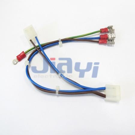 PVC Insulated 250 Type Female Terminal Wiring Assembly - PVC Insulated 250 Female Terminal Wiring Assembly