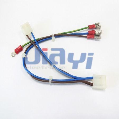 Conjunto de cableado de terminal hembra tipo 250 con aislamiento de PVC - Conjunto de cableado de terminal hembra 250 aislado con PVC