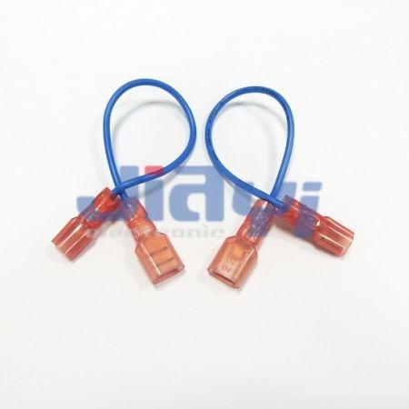 Arnés de cableado terminal hembra aislado de nailon tipo 250 - Arnés de cableado de terminal hembra con aislamiento de nailon 250