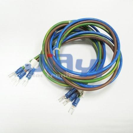 Fork Terminal Custom Wire Harness - Fork Terminal Custom Wire Harness