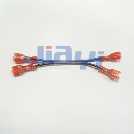 4.75mm x 0.81mm Faston Disconnect Wire Harness - 4.75mm x 0.81mm Faston Disconnect Wire Harness