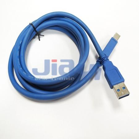 USB 3.0 A Type Male Cable Assembly