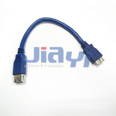 Кабель с гнездом USB 3.0 типа A в сборе