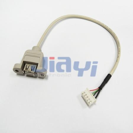 Panel Mount USB Cable Assembly