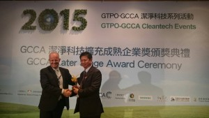 Cashido Corporation recieved the 2015 GCCA Cleantech Top 10 Best in Class Award - .