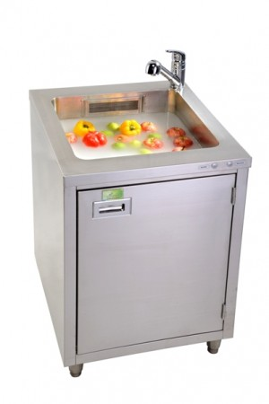 Micro Bubble Produce Washing System - commercial micro bubble ozone system soak  food fruit