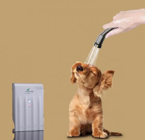 Mermaido Pet Shower - o3 doccia per cane gatto animale domestico