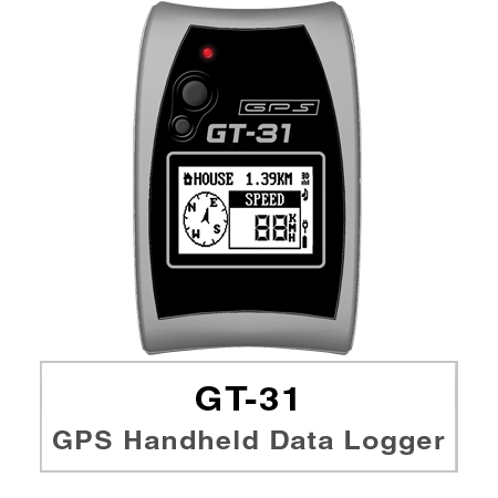 The GT-31 is a wonderfully compact, business card sized navigator, carefully designed to embody ergonomic principles.
