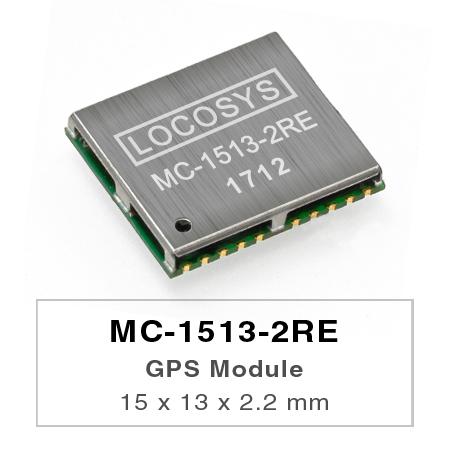 LOCOSYS GPS MC-1513-2REモジュールは、高感度、低電力、超小型フォームファクタを特長としています。