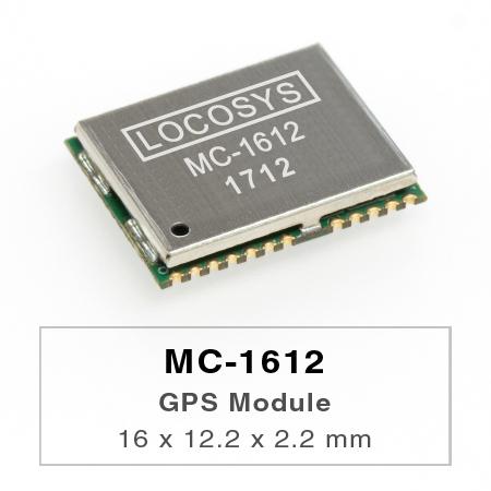 Das LOCOSYS MC-1612 GPS-Modul zeichnet sich durch hohe Empfindlichkeit, geringen Stromverbrauch und einen ultrakleinen Formfaktor aus.