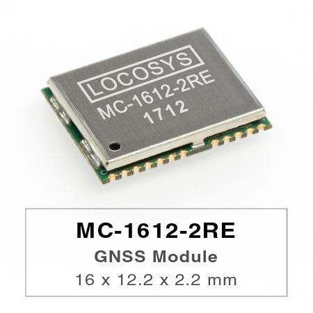 LOCOSYS GPS MC-1612-2REモジュールは、高感度、低電力、超小型フォームファクターを備えています。