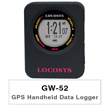GW-52 is a GPS instrument optimized to measure speed using GPS-Doppler.