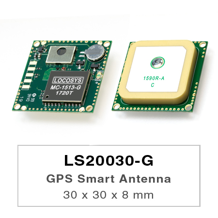 LS20030~2-G series products are complete standalone GNSS smart antenna modules, including an embedded antenna and GNSS receiver circuits, designed for a broad spectrum of OEM system applications.