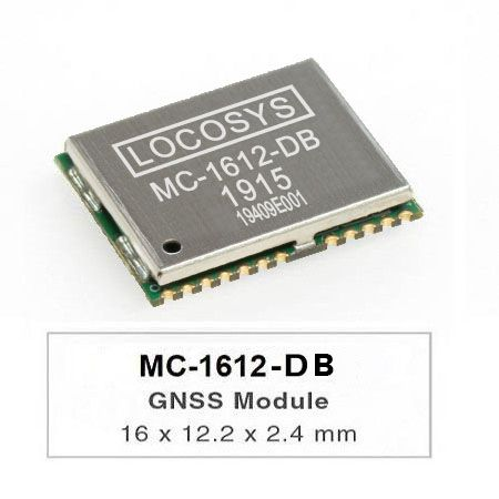 DR Module - The LOCOSYS MC-1612-DB Dead Reckoning (DR) module is the perfect solution for automotive application.