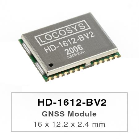 GNSS-Modul - LOCOSYS HD-1612-BV2 / HD-1612-BV3 ist ein vollständiges eigenständiges GNSS-Modul