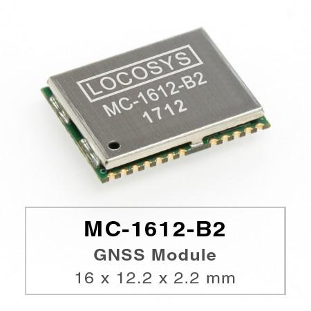Модули GNSS - LOCOSYS MC-1612-B2 - это полноценный автономный модуль GNSS.