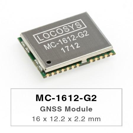 MC-1612-G2 GNSS 模組 - MC-1612-G2為獨立GNSS模組。