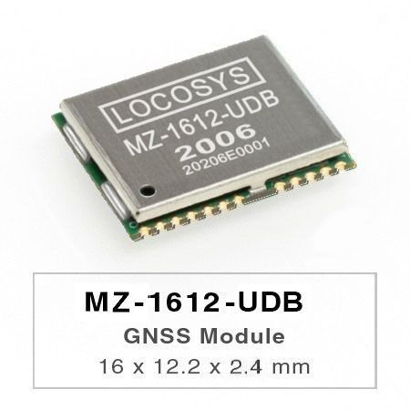 GNSS Module - LOCOSYS MZ-1612-UDB dead reckoning (DR) module is the perfect solution for automotive application.