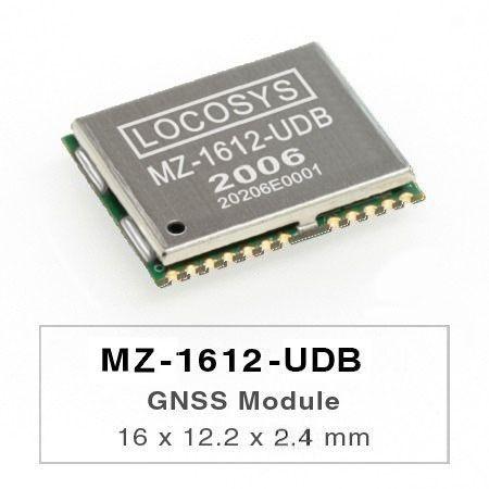 Модули GNSS - Модуль счисления мертвых (DR) LOCOSYS MZ-1612-UDB - идеальное решение для автомобильной промышленности.